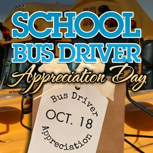 Happy Driver Appreciation Day!