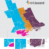 Triboard Map