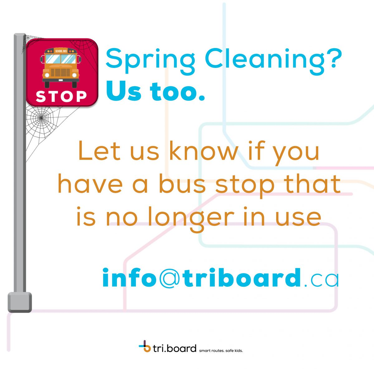 Are You No Longer Using a Bus Stop? We Need to Know