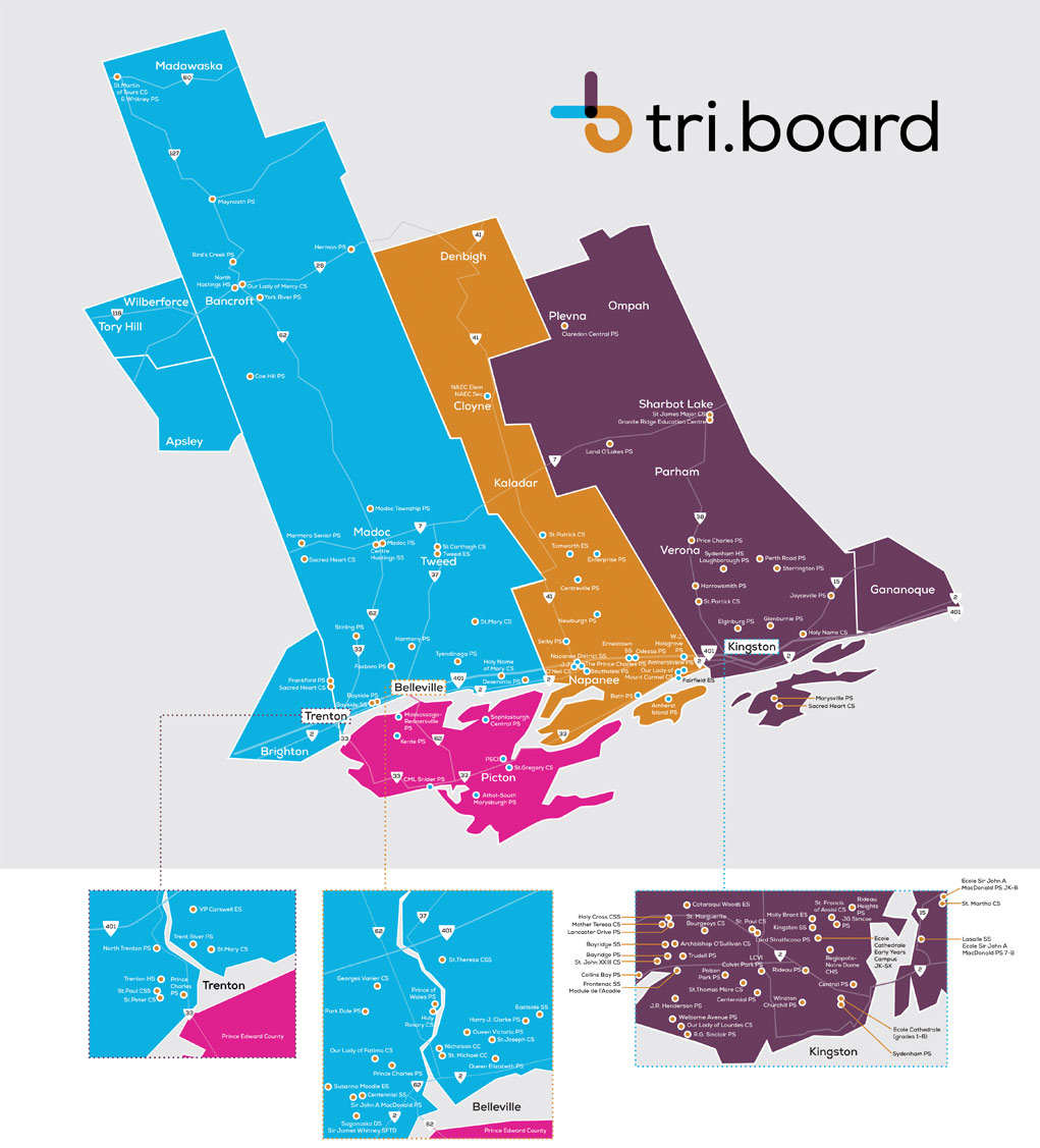 Triboard District Map
